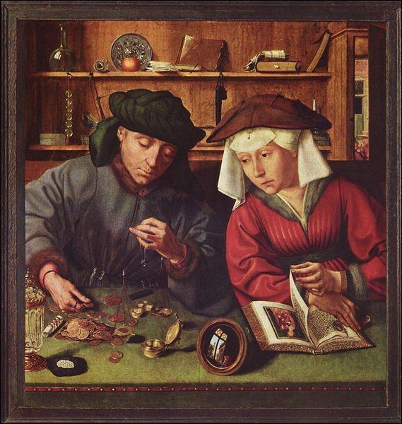 Le Prêteur et sa femme (1514)