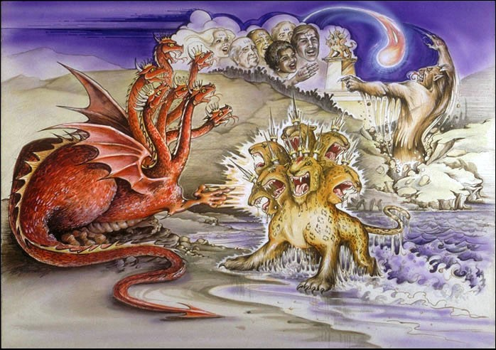Quel est le nombre de la Bête ou chiffre de la Bête dans l'Apocalypse de St Jean ?