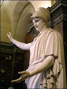 Athéna est la déesse...