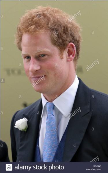 Comment s'appelle la 2e femme du prince Harry de Galles ?