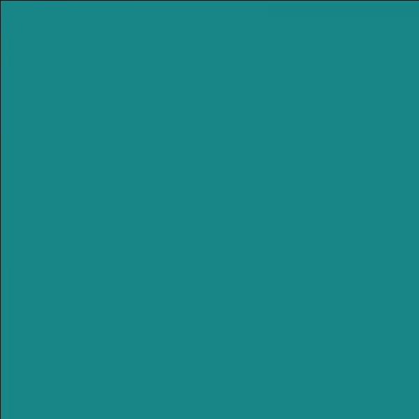 Et enfin, comment appelle-t-on cette couleur ?