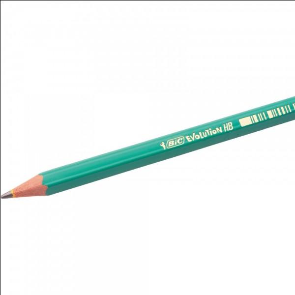 La matière appelée graphite est utilisée dans les crayons à papier. Quel élément est principalement associé au graphite ?