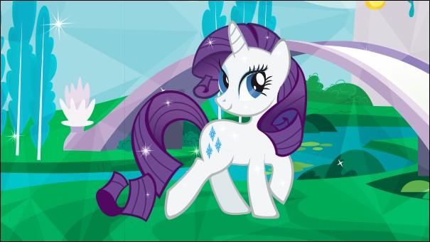 """Dans la série d'animation """"My little pony"""", comment s'appelle le royaume dans lequel il y a des poneys licornes ?"""