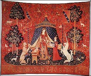 Combien de tapisseries composent la tenture de la Dame à la licorne ?