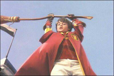 Quel professeur a essayé de tuer Harry lors de son premier match de quidditch ?
