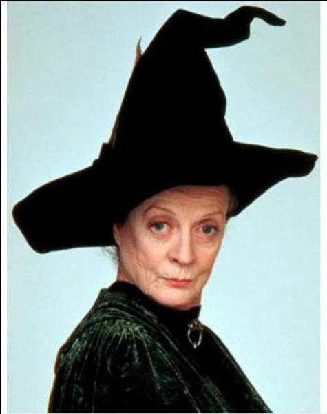 Minerva McGonagall se transforme en chat de quelle couleur ?
