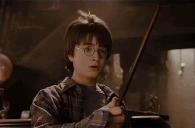 Combien de baguettes Harry teste-t-il ?