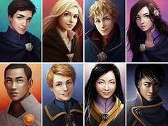 Gardiens des citées perdues : personnages