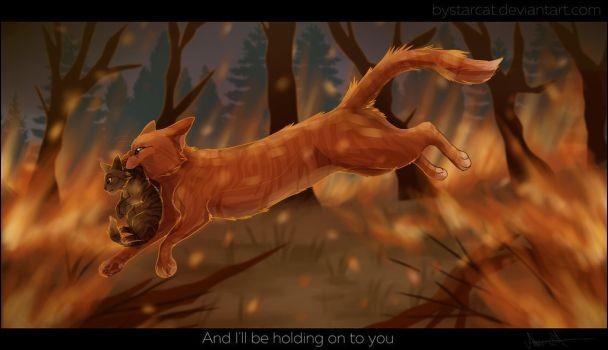 T4 : quel chat Cœur de Feu va-t-il réussir à sauver de l'incendie