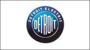 Quelle est la nationalité de la marque Detroit Electric ?
