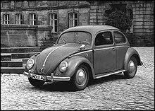 En quelle année est sortie la première Volkswagen ?