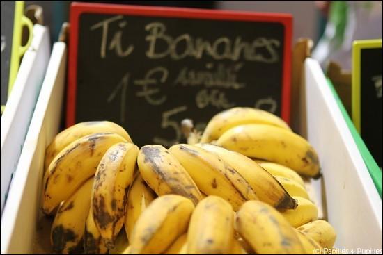 Comment est parfois appelée la banane à la Réunion ?