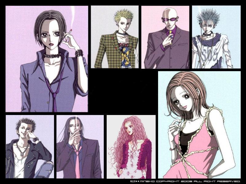 A quel manga correspondent ces personnages ?