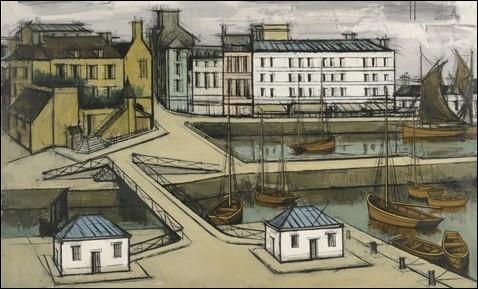"""Qui a peint """"Honfleur, la lieutenance et le port"""" ?"""