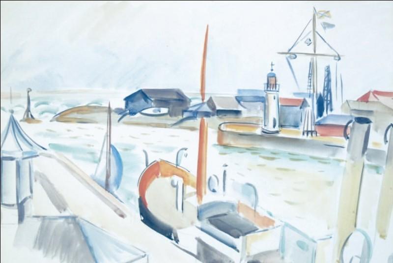 """Qui a peint """"Avant port de Honfleur"""" ?"""