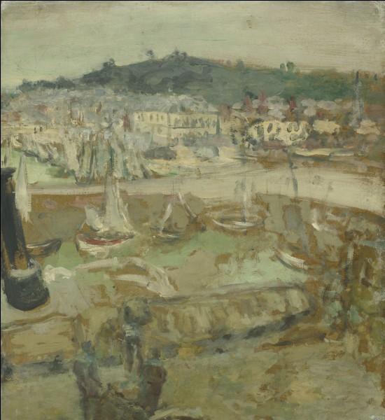 """Qui a peint """"Le petit port, Honfleur"""" ?"""