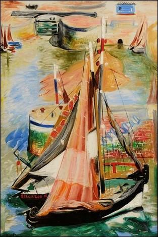 """Qui a peint """"Bateau dans le port de Honfleur"""" ?"""