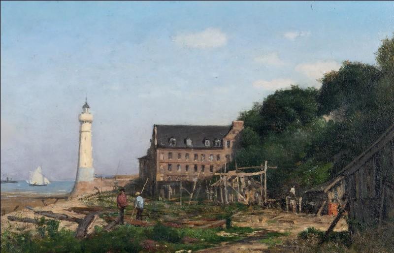 """Qui a peint """"Le phare d'Honfleur"""" ?"""