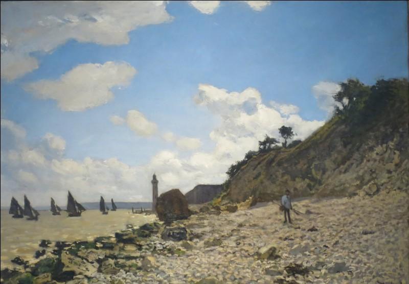 """Qui a peint """"La plage à Honfleur"""" ?"""
