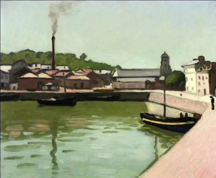 """Qui a peint """"Le port de Honfleur"""" ?"""
