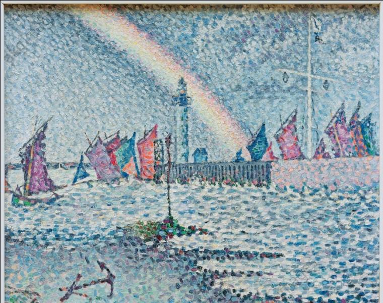 """Qui a peint """"Entrée du port d'Honfleur"""" ?"""