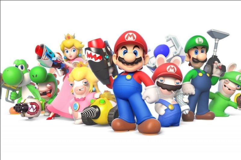 Quel duo de personnages n'a jamais vu l'un des personnages de Mario ?