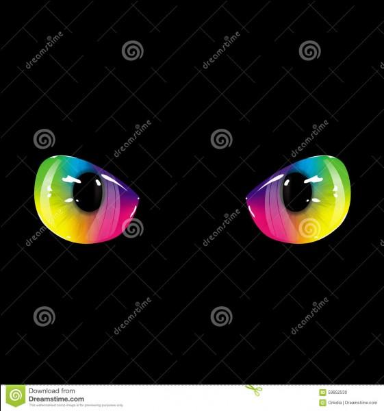 Tes yeux sont...