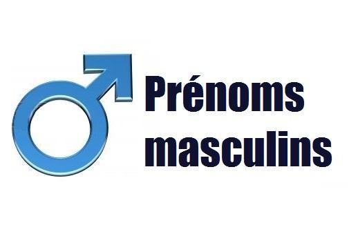Des prénoms masculins en images