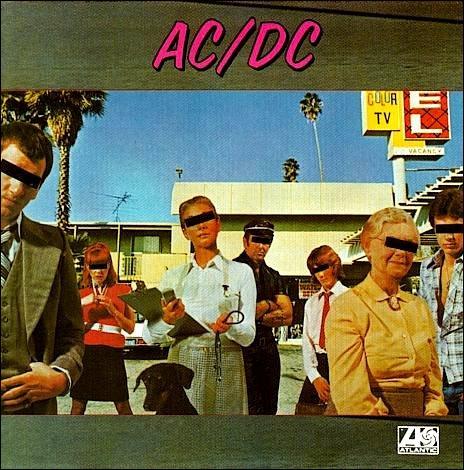 Quel est le titre du deuxième album d'AC/DC sorti en 1976 ?