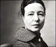 """Cette théoricienne écrivait """"Le Deuxième Sexe"""" publié en 1949..."""
