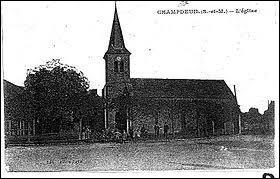 Commune Seine-et-Marnaise, Champdeuil se situe en région ...