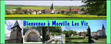 Nous sommes das le Grand-Est, à Morville-lès-Vic. Village du Saulnois, dans le parc naturel régional de Lorraine, il se situe dans le département ...
