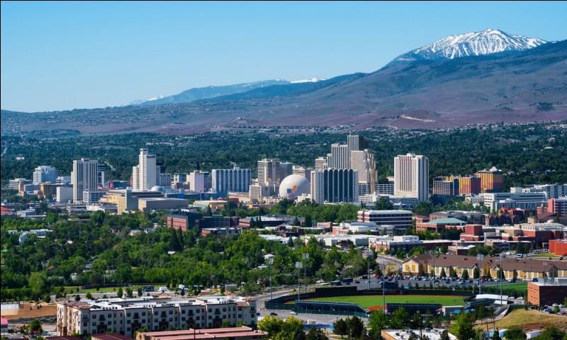 Ville des Etats-Unis, le deuxième paradis du jeu de l'Etat du Nevada :