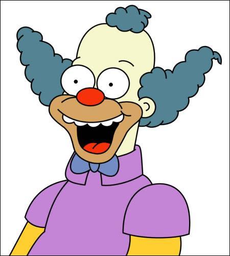 Quizz les simpson quiz simpsons simpson - Clown simpson ...