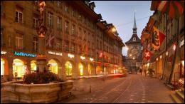 Elle n'est pas la ville la plus connue de la Suisse mais c'est malgré tout sa capitale depuis 1848.