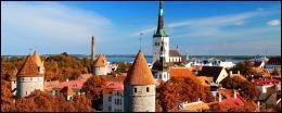 Cette capitale d'un pays balte se situe sur le golfe de Finlande.