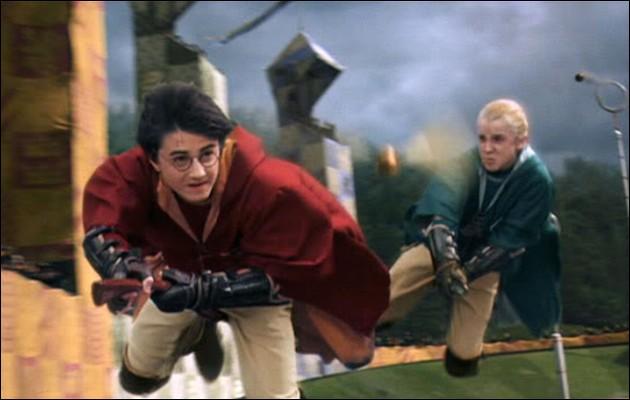 Qui a ensorcelé le Cognard durant le match de quidditch ?
