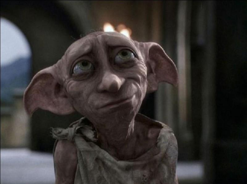 Comment s'appelle l'elfe de maison qui va rendre visite à Harry Potter ?