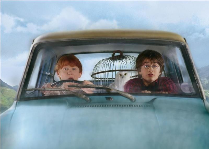 Qui va chercher Harry en voiture ?