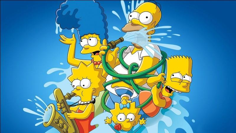 Comment s'appellent les enfants Simpson ?