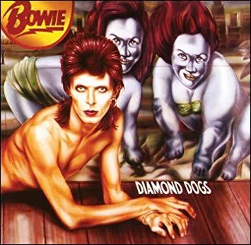 """Comment se nomme le nouveau personnage créé par David pour son album """"Diamond Dogs"""" sorti en 1974 ?"""