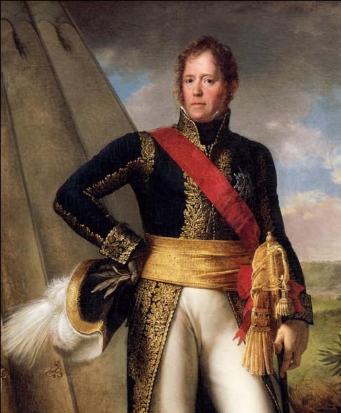 Général des armées napoléoniennes, maréchal d'Empire :