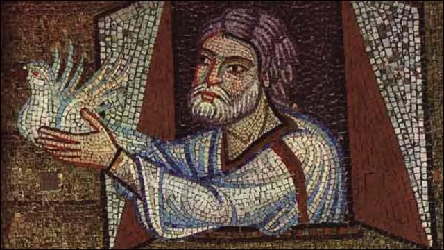 Personnage biblique, célèbre pour son arche :