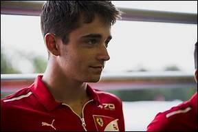 Où Charles Leclerc a-t-il réalisé sa première pole position ?