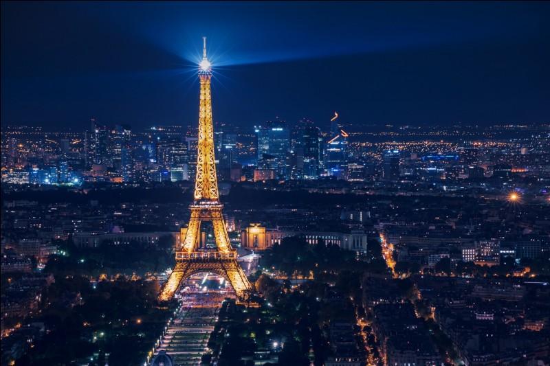 Quel est le nom de ce monument se situant Paris ?