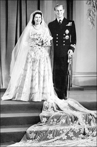Lors de son mariage, elle devint duchesse d'Edimbourg. Quand eut-il lieu ?