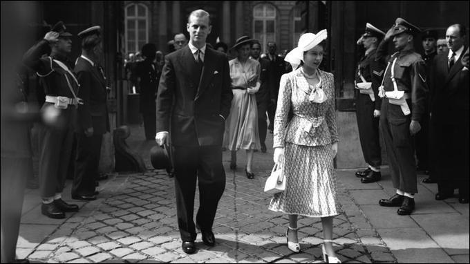 Au mois de mai 1948, elle effectua avec son époux un voyage à l'étranger. Où eut-il lieu ?