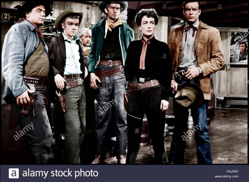 """""""Johnny Guitare"""" est un long-métrage dans lequel joue Cindy Crawford."""