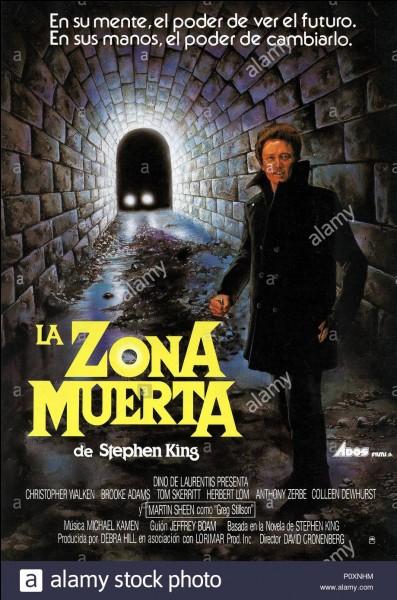 """""""Dead zone"""" est un film interprété par Christopher Walken."""