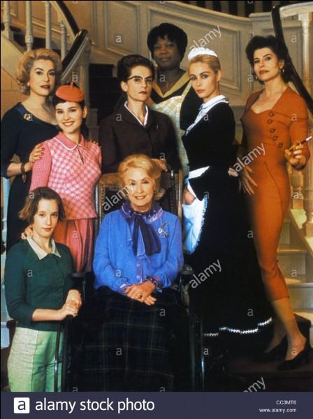 """""""Huit femmes"""" est un film interprété par Catherine Deneuve."""